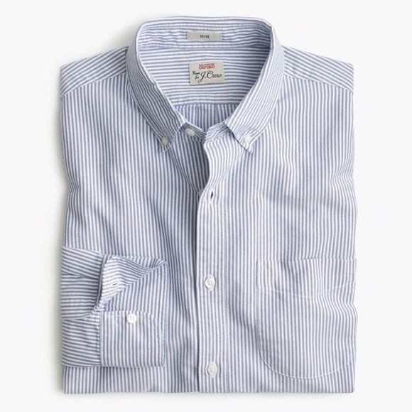 b6eb53b1b2112 J. Crew Pima cotton oxford - mechanical stretch